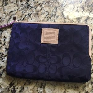 Coach tablet sleeve